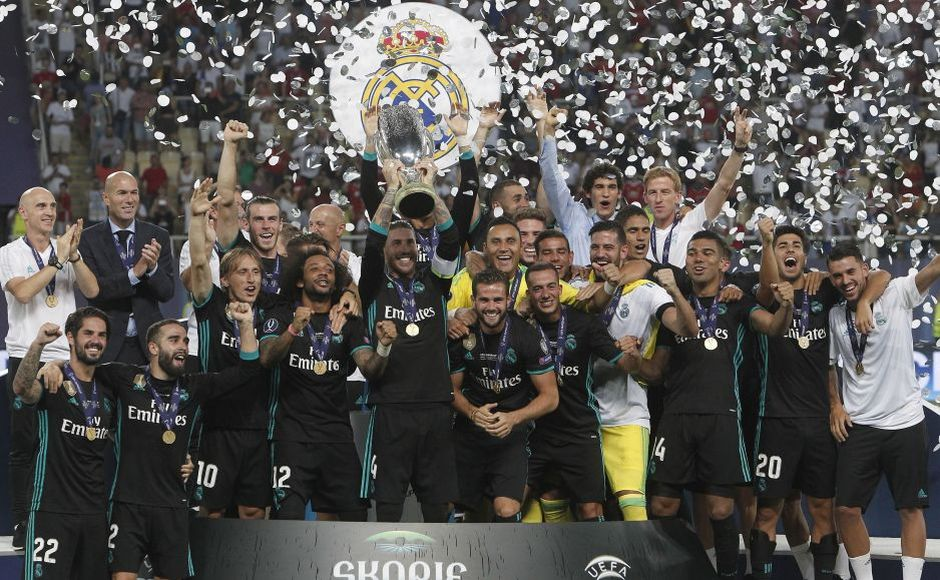 Real Madrid resist late Manchester United charge to win UEFA Super Cup