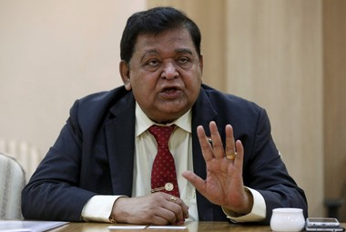 L&T's A M Naik man with great vision and is the first and 'Original Make-in-India man', says Mukesh Ambani