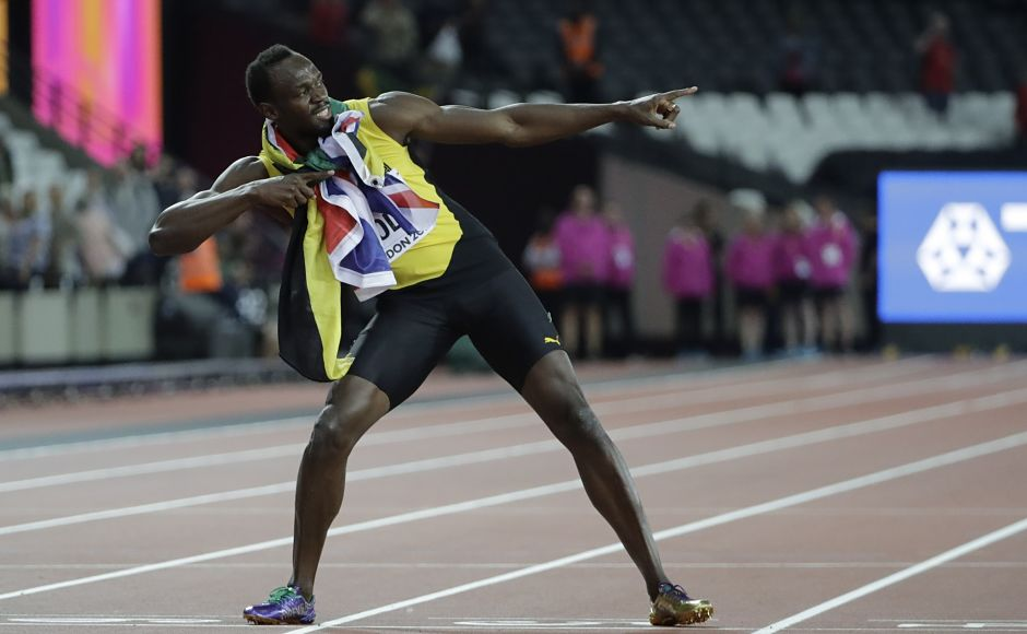 Usain Bolt finishes final solo race with bronze, Almaz Ayana wins 10,000m at IAAF World Championships
