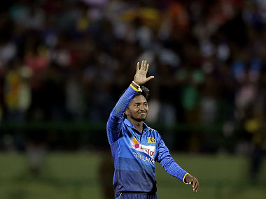 Akila Dananjaya's six-wicket haul wasn't enought for Sri Lanka to win against India on Thursday. AP