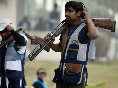Asian Shotgun Championships Indias Ankur Mittal clinches gold individual team double trap events