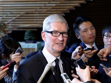 Apple CEO Tim Cook. Reuters