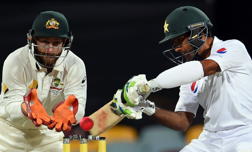 Asad Shafiq's heroic century in the second innings nearly guided Pakistan to an unlikely victory in Brisbane. AFP