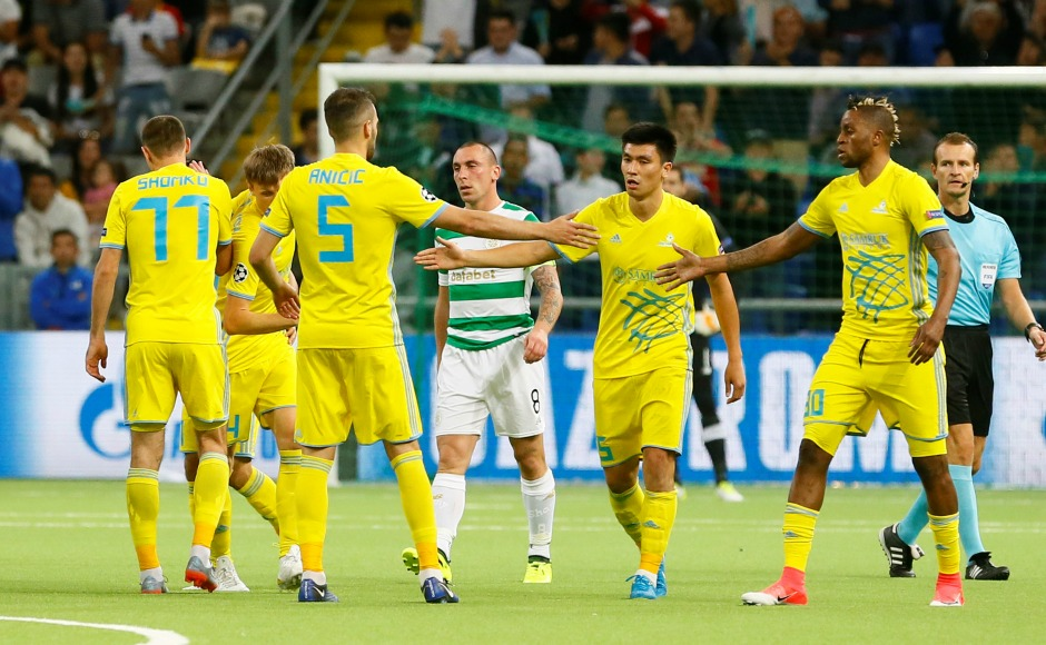 Napoli, Sevilla, Celtic advance to group-stage after winning their Champions League play-off ties