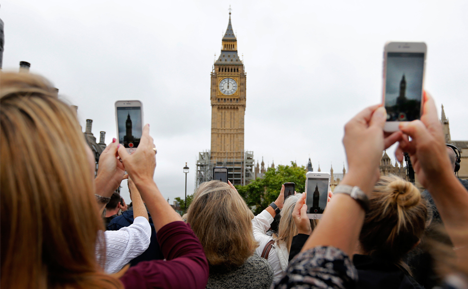 London's iconic Big Ben falls silent for four years of repairs