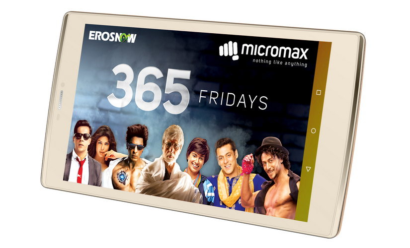 The Micromax Plex comes with one year of Eros premium subscription.