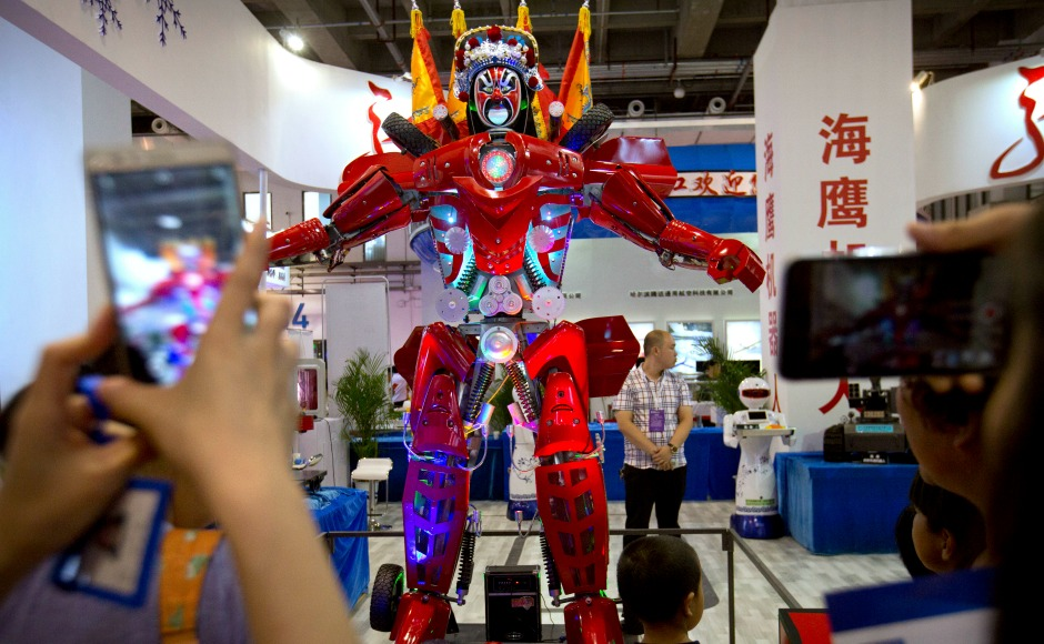 World Robot Conference 2017: Tech geeks get their share of innovation in Beijing