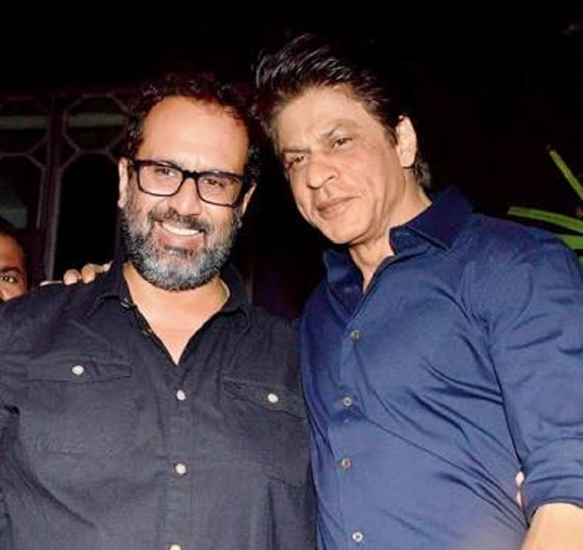 Aanand L Rai with Shah Rukh Khan. Image from Twitter