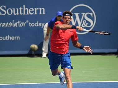 Cincinnati Open: Juan Martin del Potro makes winning return, beats Tomas Berdych to progress to 2nd round