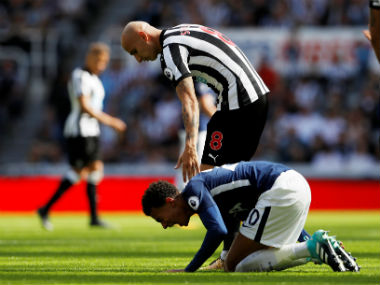 Premier League: Tottenham Hotspur's Dele Alli says there was no need to react to Jonjo Shelvey's stamp