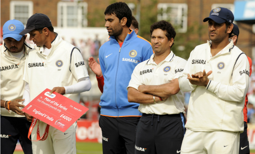 India's disastrous 2011 tour of England under MS Dhoni ended their 21-month reign at the top of the Test rankings.