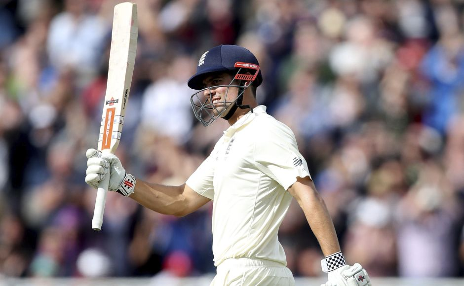 Alastair Cooks doublecentury leads England to strong position on Day 2 of Edgbaston daynight Test