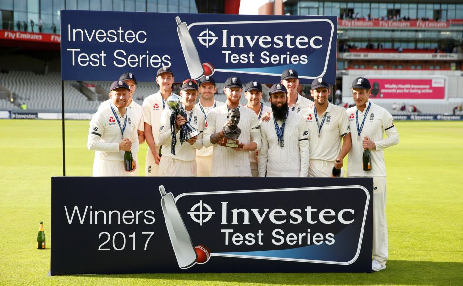 Moeen Ali's five-wicket haul seals England's first Test series win under Joe Root