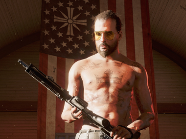 Far Cry 5 still looks just as bland as its predecessor, but at least now you get to keep a dog and go fishing