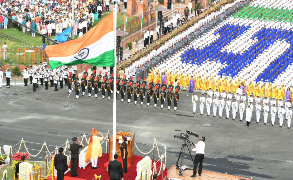 On Independence Day, Narendra Modi addresses the nation, urges countrymen to strive for 'New India' by 2022