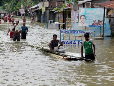 West Bengal floods Mamata Banerjee visits Malda assures relief to victims