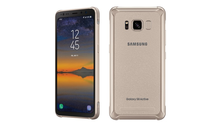 Samsung Galaxy S8 Active Gold