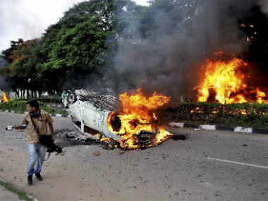 Panchkula violence as it happened Death toll rises to 38 Ram Rahim Singh case verdict to be announced at 230 pm