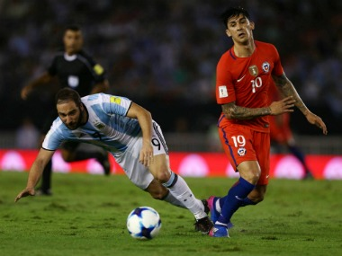 FIFA World Cup 2018 qualifiers: Gonzalo Higuain dropped by new Argentina coach Jorge Sampaoli