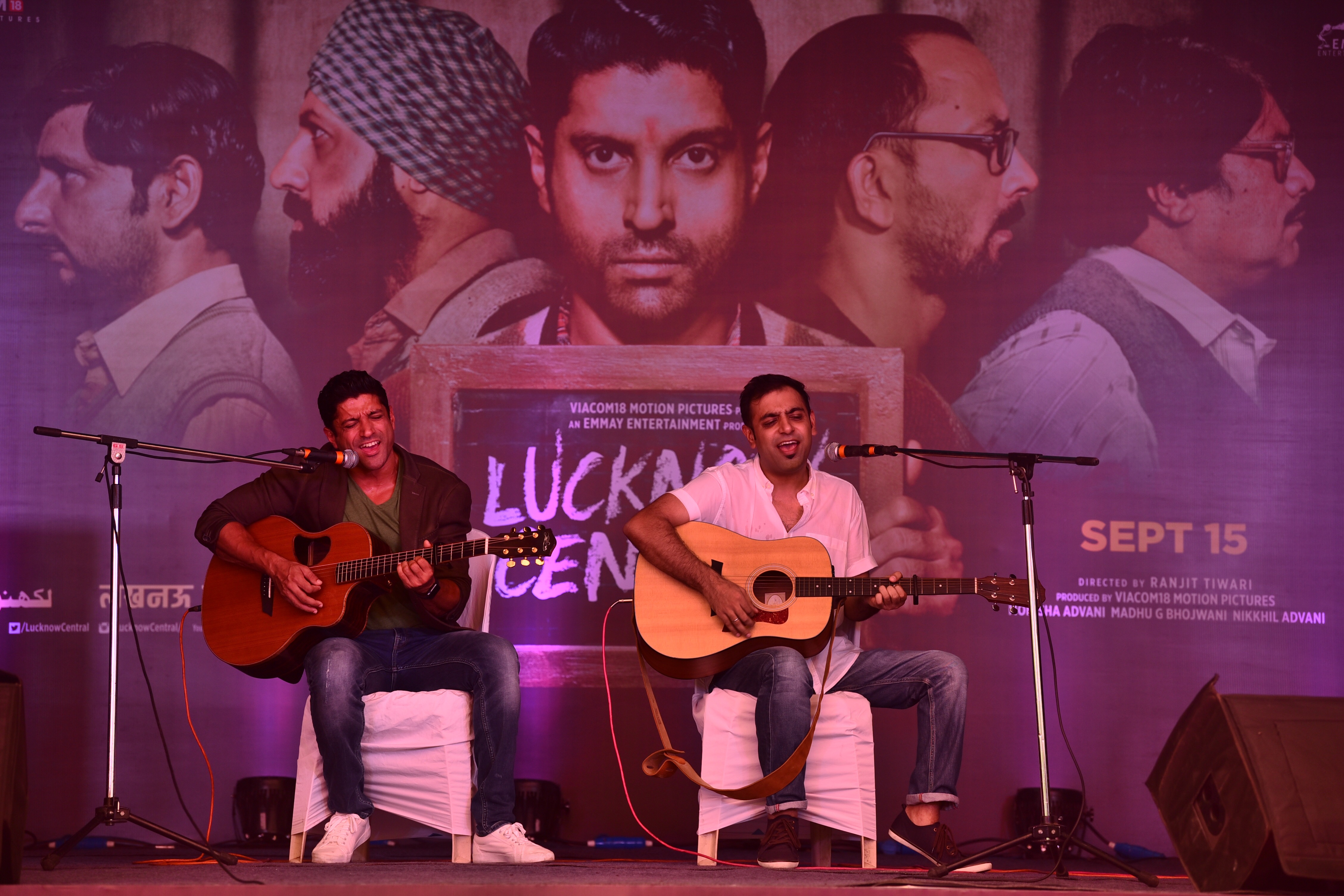 Lucknow Central: Farhan Akhtar releases new song, spends time at Yerwada Jail on Independence Day