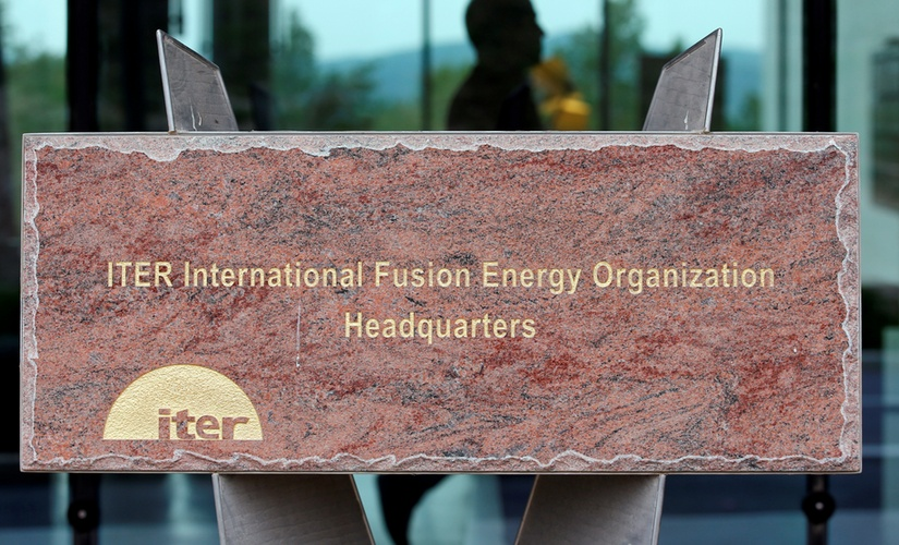 International Thermonuclear Experimental Reactor (ITER) organization. Reuters