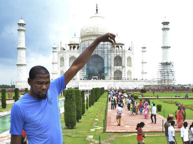 NBA star Kevin Durant says India is 20 years behind in terms of knowledge and experience