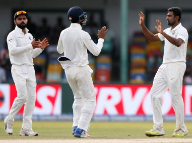 India vs Sri Lanka, 2nd Test: R Ashwin's clever variations pile on pressure after batsmen post massive total