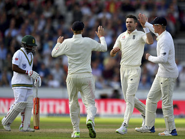 England vs South Africa, 4th Test: James Anderson's four-wicket haul on Day 2 helps hosts tighten their hold