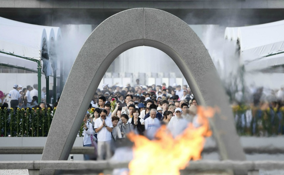 Japan marks 72nd anniversary of Hiroshima atomic bombing amid tensions with nuclear-armed North Korea