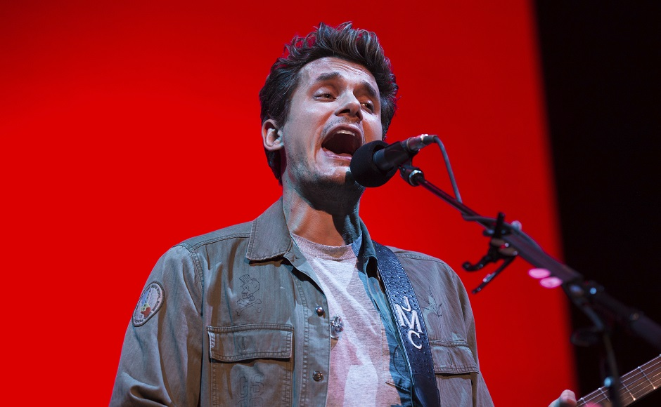 Singer-musician John Mayer performs in New York as part of The Search for Everything World Tour