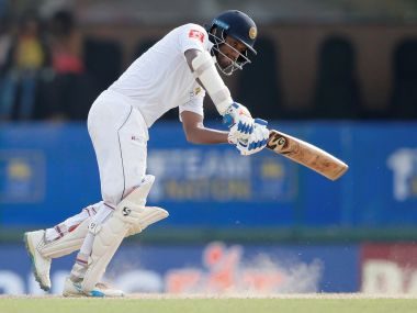 India vs Sri Lanka: Dimuth Karunaratne has been hosts' best batsman, but his valiant battle has been in vain