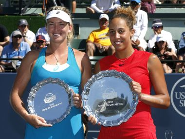 Stanford Classic: Madison Keys downs compatriot CoCo Vandeweghe for third career title
