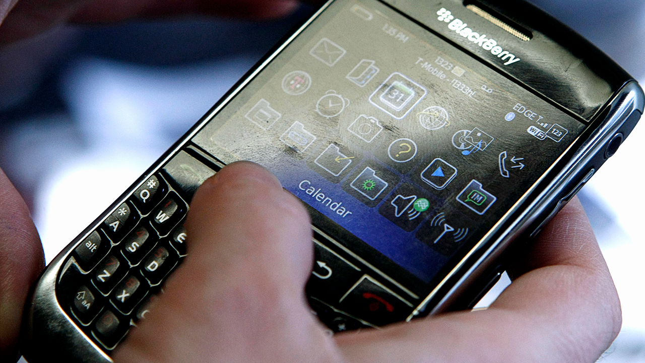 A BlackBerry device was the definitive device to own in early 2010. Reuters