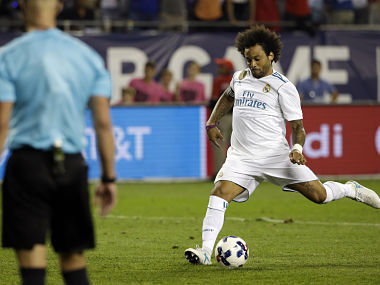 La Liga Real Madrid defender Marcelo says title race is not over despite crushing defeat against Barcelona