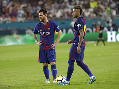 LaLiga Lionel Messi says Neymar eager to return to Barcelona feels Catalans not good enough to win Champions League