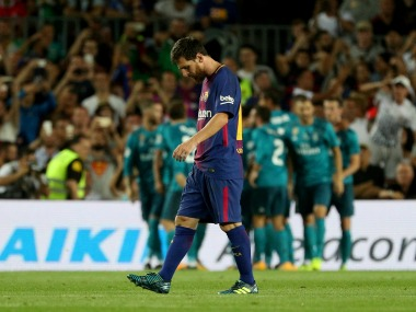 Spanish Super Cup: Barcelona left floundering in 1st leg; loss to Real Madrid shows gap between two teams