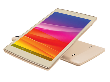 A frontal view of the Micromax Plex