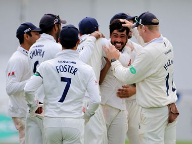 Mohammad Amir's first five-wicket haul for Essex helps County leaders restrict Yorkshire to 113