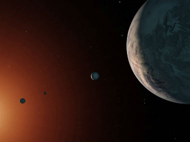 Seven near Earth objects were found near Trappist-1. NASA.