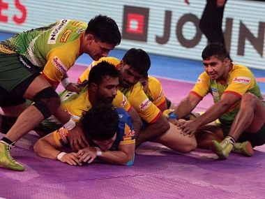 Pro Kabaddi League 2017 Patna Pirates thrash Tamil Thalaivas Puneri Paltan win cliffhanger against U Mumba