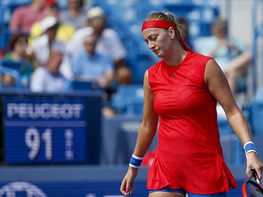 Dubai Tennis Championships Petra Kvitova joins Simona Halep on injury list after withdrawing from tournament