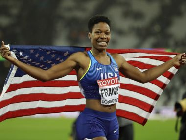 IAAF World Athletics Championships 2017 medal tally Phyllis Francis wins 400m gold as USA remains atop