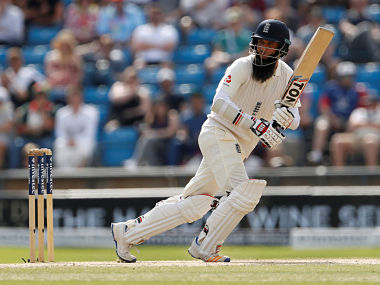 Cricket - England vs West Indies - Second Test - Leeds, Britain - August 28, 2017 England's Moeen Ali in action Action Images via Reuters/Lee Smith - RTX3DOT2