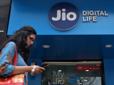 Reliance Jio Digital Life Store. Reuters