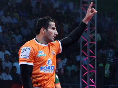 Pro Kabaddi League 2017: For Puneri Paltan's Sandeep Narwal, raw aggression is bread and butter