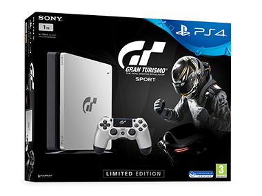 The Limited Edition Gran Turismo Sport PS4