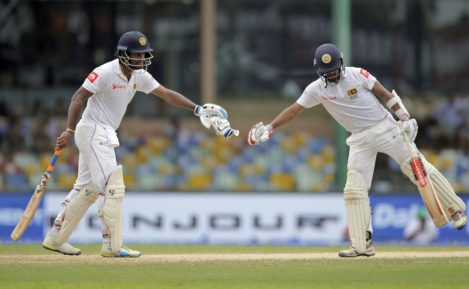 Dimuth Karunaratne, Kusal Mendis fight back in 2nd innings after R Ashwin's 5-for helps India enforce follow-on