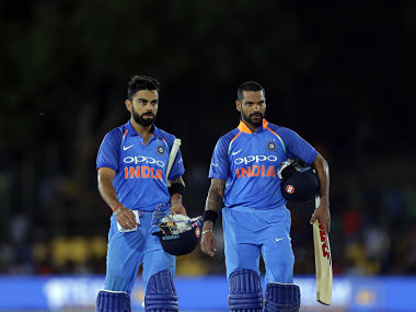 India vs Sri Lanka: Shikhar Dhawan slams whirlwind ton as visitors canter to 9-wicket win to go 1-0 up