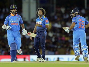 Sri Lanka's strike pace bowler, Lasith Malinga will have to lead the inexperienced bowling line up against India's star studded batting unit if Sri Lanka have match their opposition. AP