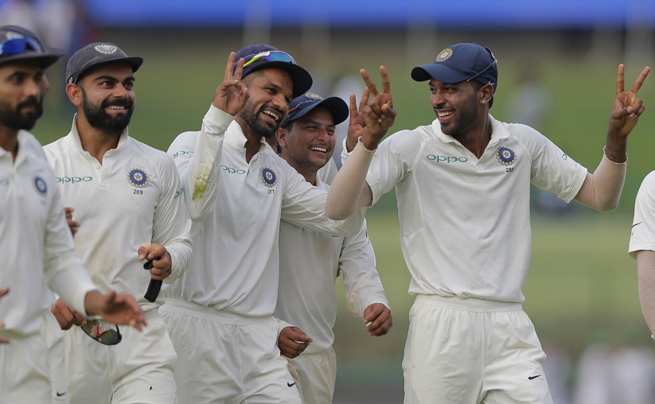 Hardik Pandya, Kuldeep Yadav shine bright on Day 2 as India close in on historic whitewash